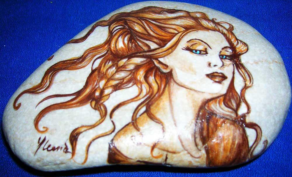 sassi dipinto : Pittura Su Ceramica Dipinti Tela E Carta Decorazioni Natalizie picture