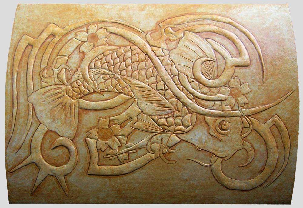 Pittura su contenitori in legno scrigni decorati a - Decorazioni legno ...