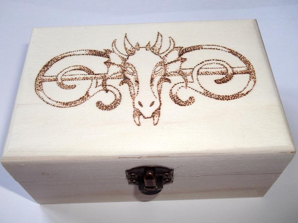 Favoloso Pirografia su legno: artigianato artistico FI62