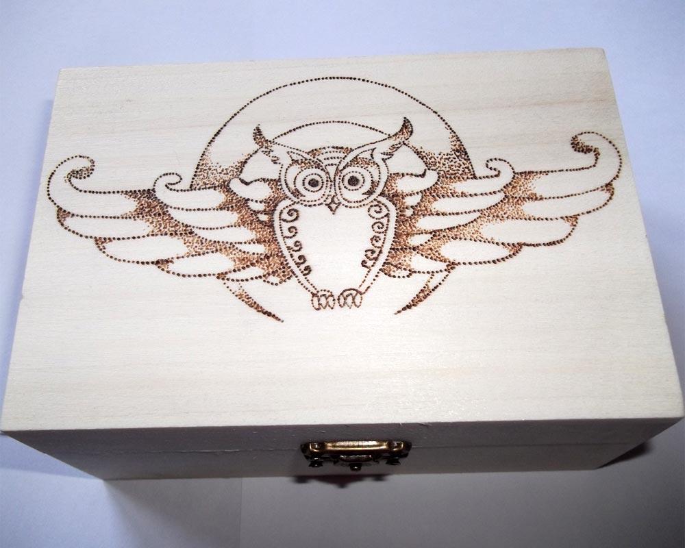 spesso Pirografia su legno: artigianato artistico DS66
