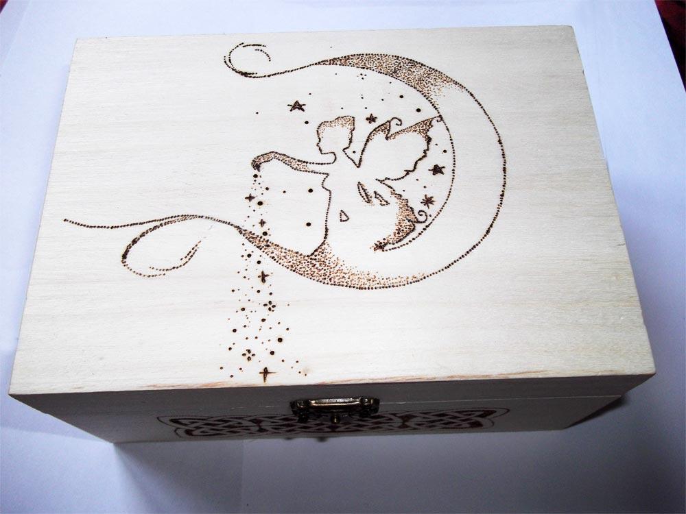 Super Pirografia su legno: artigianato artistico ZK35