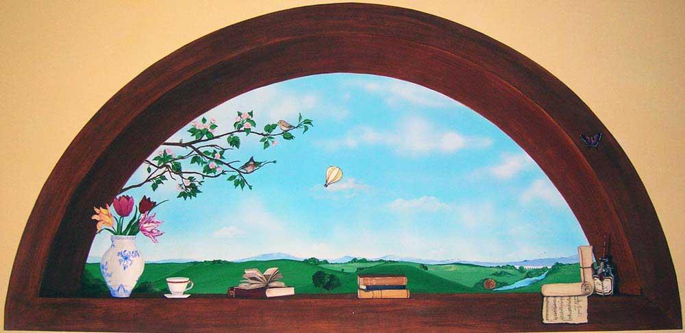 Decorazione d 39 interni a roma realizzazione murales disney for Disegnare interni