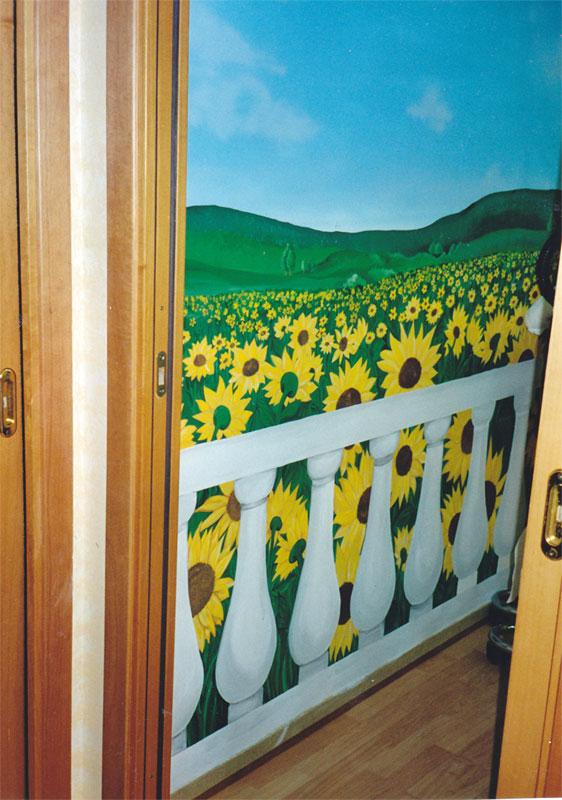 Decorazioni per negozi festone di carta variopinto a tema for Negozi per la casa roma