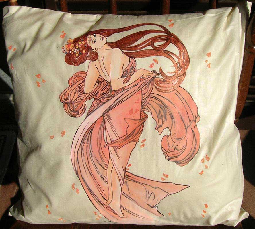 Vendita cuscini personalizzabili d 39 arredo e design per for Cuscini dipinti