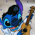 Stitch Elvis - cod#PS-B4